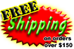 FREE Shipping on orders above $150
