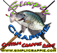 Simply Crappie Custom Crappie Rods