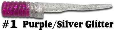 Purple/Silver Glitter